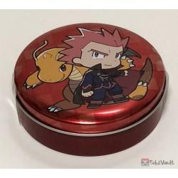 Pokemon Center 2019 Pokemon Trainers Campaign Lance Dragonite Candy Collector Tin