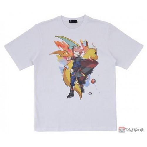Pokemon Center 2019 Pokemon Trainers Campaign Lance Dragonite Tshirt  (Free Size)