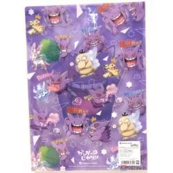 Pokemon Center 2019 Gengar De Hiyari!? Campaign Sylveon Psyduck & Friends A4 Size Clear File Folder