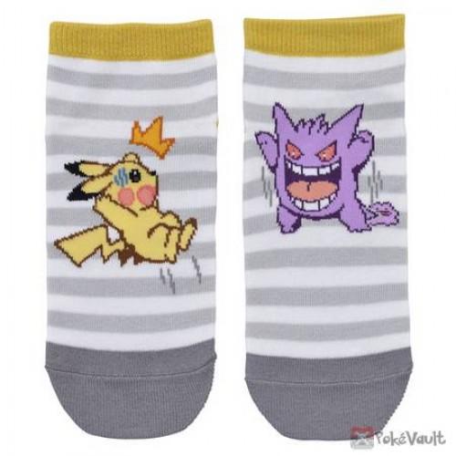 Pokemon Center 2019 Gengar De Hiyari!? Campaign Gengar Pikachu Adult Short Socks