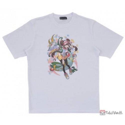 Pokemon Center 2019 Pokemon Trainers Campaign Rosa Serperior Tshirt  (Free Size)