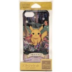Pokemon Center 2019 Pokemon Researcher Campaign Pikachu Raichu iPhone 6/6s/7/8 Mobile Phone Soft Cover