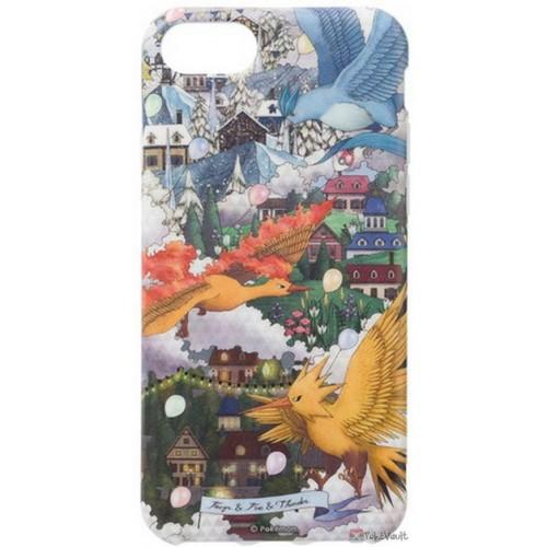 Pokemon Center 2019 Pokemon Researcher Campaign Articuno Moltres Zapdos iPhone 6/6s/7/8 Mobile Phone Soft Cover