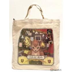Pokemon Center 2019 Pokemon Researcher Campaign Vulpix Ninetales Large Tote Bag