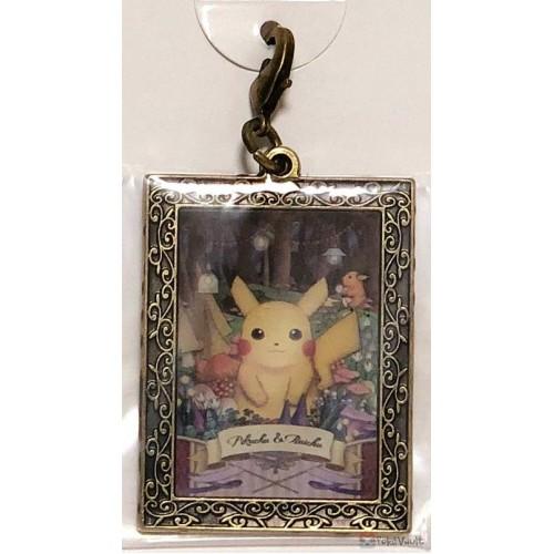 Pokemon Center 2019 Pokemon Researcher Campaign Pikachu Raichu Metal Charm (Version #1)