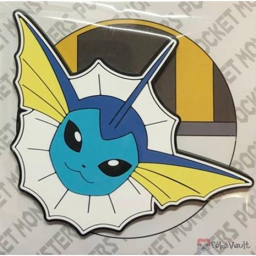 Pokemon Center 2019 Vaporeon Large Size Rubber Magnet