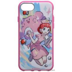 Pokemon Center 2019 Pokemon Trainers Campaign Pokemon Center Nurse Chasey iPhone 6/6s/7/8 Mobile Phone Hybrid Protection Case