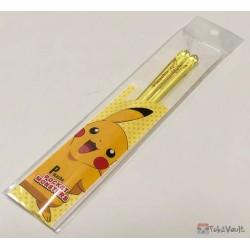 Pokemon Center 2019 Pikachu Clear Plastic Bento Size Chopsticks