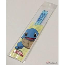 Pokemon Center 2019 Squirtle Clear Plastic Bento Size Chopsticks