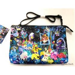 Pokemon Center 2019 Halloween Berry's Forest Ghost's Castle Campaign Sylveon Ninetales & Friends Reversible Shoulder Bag (Berry's Forest Version)