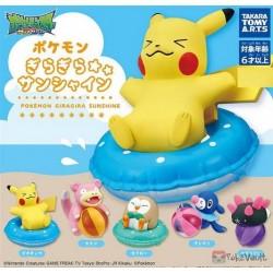 Pokemon 2019 Takara Tomy Gira Gira Sunshine Pyukumuku Figure