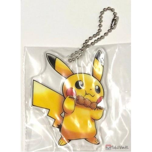 Pokemon Center Osaka DX 2019 Grand Opening Pikachu Acrylic Plastic Character Keychain (Version #3)