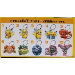 Pokemon Center Osaka DX 2019 Grand Opening Krabby Acrylic Plastic Character Keychain (Version #6)