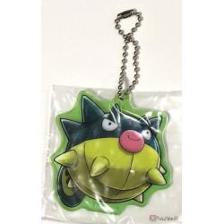 Pokemon Center Osaka DX 2019 Grand Opening Qwilfish Acrylic Plastic Character Keychain (Version #7)