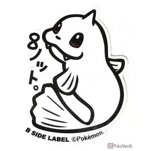 Pokemon 2019 B-Side Label Dewgong Large Waterproof Sticker