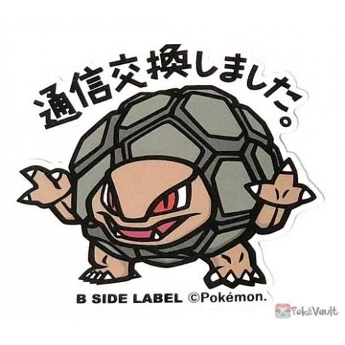 Pokemon 2019 B-Side Label Golem Large Waterproof Sticker