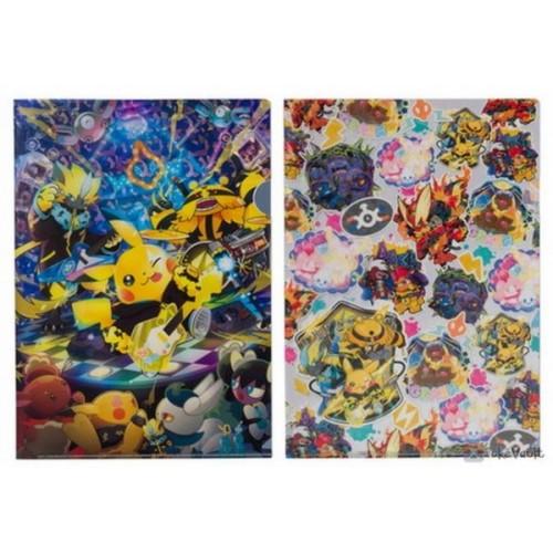 Pokemon Center 2019 Pokemon Band Festival Campaign Pikachu Zeraora Electivire & Friends Set Of 2 A4 Size Clear File Folders