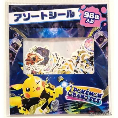 Pokemon Center 2019 Pokemon Band Festival Campaign Pikachu Zeraora & Friends Set Of 96 Stickers