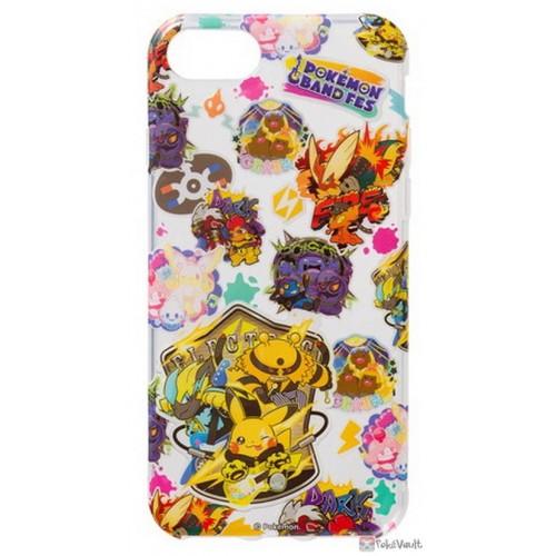 Pokemon Center 2019 Pokemon Band Festival Campaign Zeraora Blaziken & Friends iPhone 6/6s/7/8 Mobile Phone Soft Cover (Version #1)