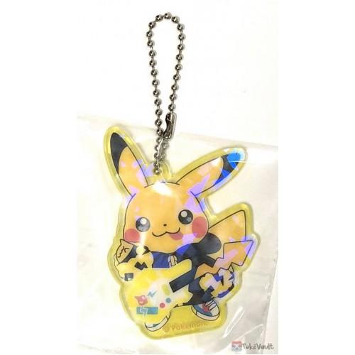 Pokemon Center 2019 Pokemon Band Festival Campaign Pikachu Acrylic Plastic Keychain (Version #7)