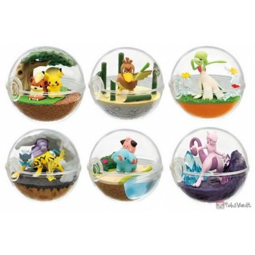 Pokemon Center 2019 Re-Ment Terrarium Collection Series #7 Complete Set Of 6 Figures