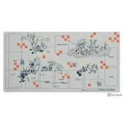 Pokemon Center 2019 Japanese Pattern Campaign #3 Pokemon Giga Croagunk Greninja & Friends Official Premium Half Rubber Playmat