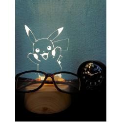 Pokemon 2019 Pikachu Acrysta LED Acrylic Accessory Stand