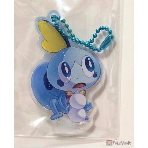 Pokemon Center 2019 Pokemon Frosty Christmas Campaign Sobble Acrylic Plastic Keychain (Version #4)