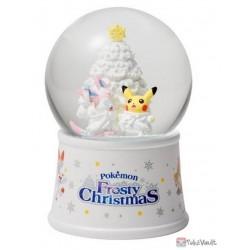 Pokemon Center 2019 Pokemon Frosty Christmas Campaign Sylveon Pikachu Snow Globe
