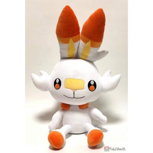 Pokemon 2019 San-Ei All Star Collection Scorbunny Large Size Plush Toy Cushion