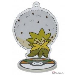 Pokemon Center 2019 Eldegoss Acrylic Plastic Character Keychain & Stand