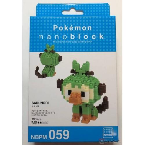 Pokemon Center 2019 Nano Block Grookey Figure