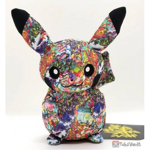 Pokemon Center Shibuya 2019 Grand Opening Graffiti Art Pikachu Plush Toy (Shibuya Only Version)