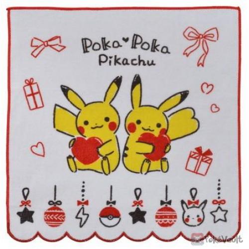 Pokemon Center 2020 Poka Poka Pikachu Valentine's Day Mini Hand Towel