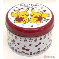 Pokemon Center 2020 Poka Poka Pikachu Valentine's Day Campaign Pikachu Zeraora & Friends Print Cookie Collector Tin