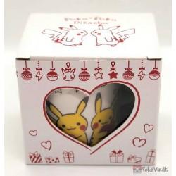Pokemon Center 2019 Poka Poka Pikachu Valentine's Day Campaign Ceramic Mug With Cookies & Tea