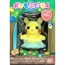 Pokemon 2019 Bandai Pokemofu Doll Vol. 4 Pikachu Figure (Version #2 Ballet)