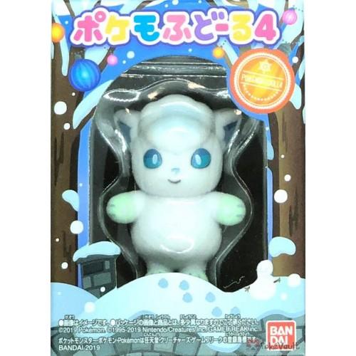 Pokemon 2019 Bandai Pokemofu Doll Vol. 4 Alolan Vulpix Figure (Version #5)