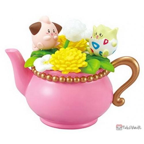 Pokemon Center 2019 Re-Ment Floral Cup Collection Series Vol. 2 Cleffa Togepi Figure (Version #2)