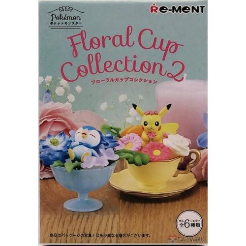 Pokemon Center 2019 Re-Ment Floral Cup Collection Series Vol. 2 RANDOM Figure