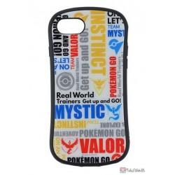 Pokemon Center 2019 Pokemon GO Campaign Team Emblem iPhone 6/6s/7/8 Mobile Phone Hybrid Protection Case