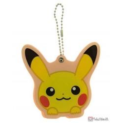 Pokemon Center 2020 Hoppe Daishugo Campaign Pikachu Acrylic Plastic Mirror Keychain (Version #1)