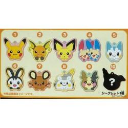 Pokemon Center 2020 Hoppe Daishugo Campaign Togedemaru Acrylic Plastic Mirror Keychain (Version #8)