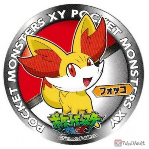 Pokemon 2013 Sapporo Ichiban Ramen X & Y Collection Series Fennekin Sticker