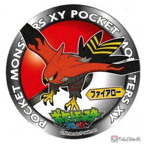 Pokemon 2013 Sapporo Ichiban Ramen X & Y Collection Series Talonflame Sticker