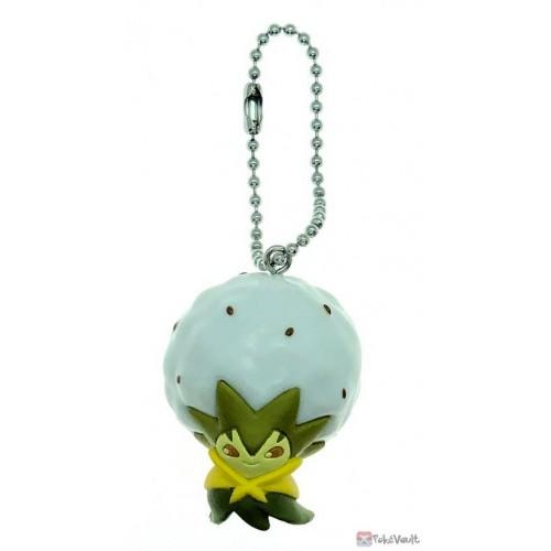 Pokemon Center 2020 Ball Chain Mascot Series Eldegoss Plastic Keychain