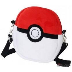 Pokemon Center 2020 Pokeball Plush Shoulder Pouch