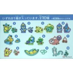 Pokemon Center 2020 Pokemon Nonbiri Life Campaign Psyduck Diglett Acrylic Plastic Charm Keychain (Version #5)
