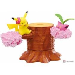 Pokemon 2020 Re-Ment Pokemon Forest Vol. 4 Pikachu Hoppip Figure (Version #1)
