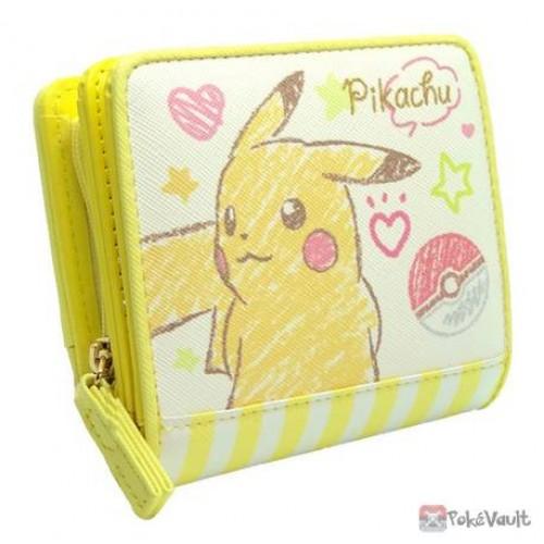 Pokemon 2020 Pikachu Crayon Sketch Wallet